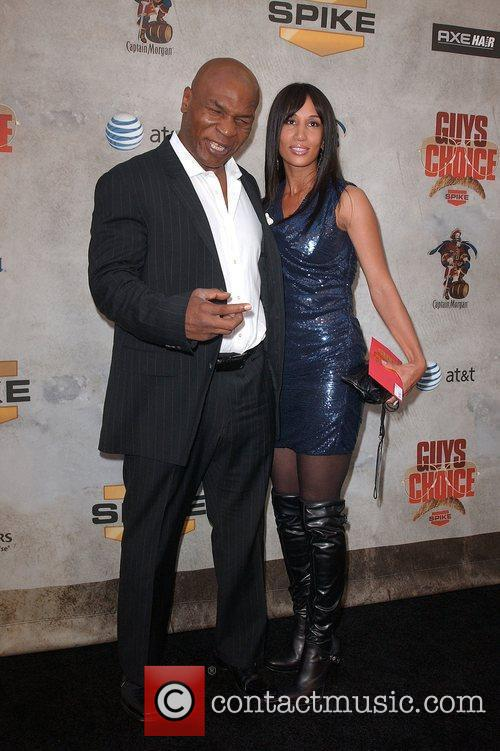 Mike Tyson and wife Lakhia Spicer Spike TV's...
