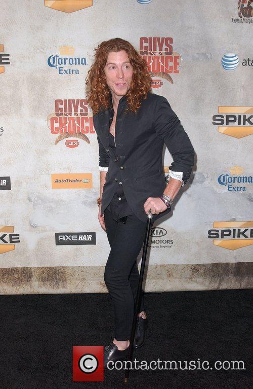 Snowboarder Shaun White Spike TV's 'Guys Choice Awards'...