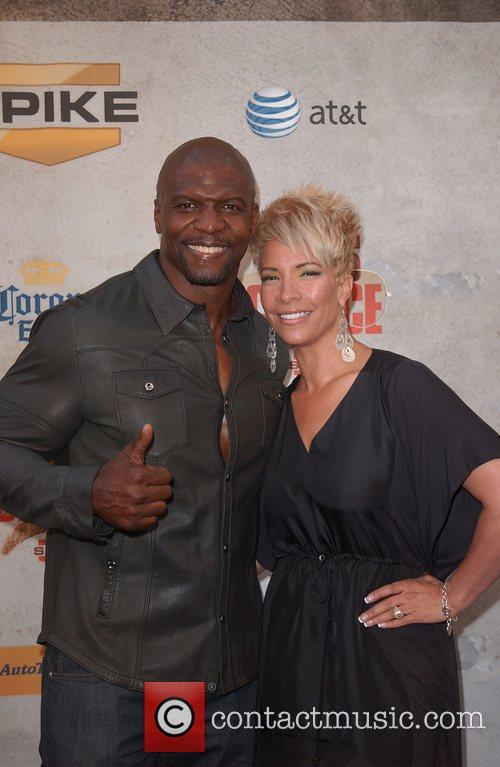 Terry Crews and wife Spike TV's 'Guys Choice...