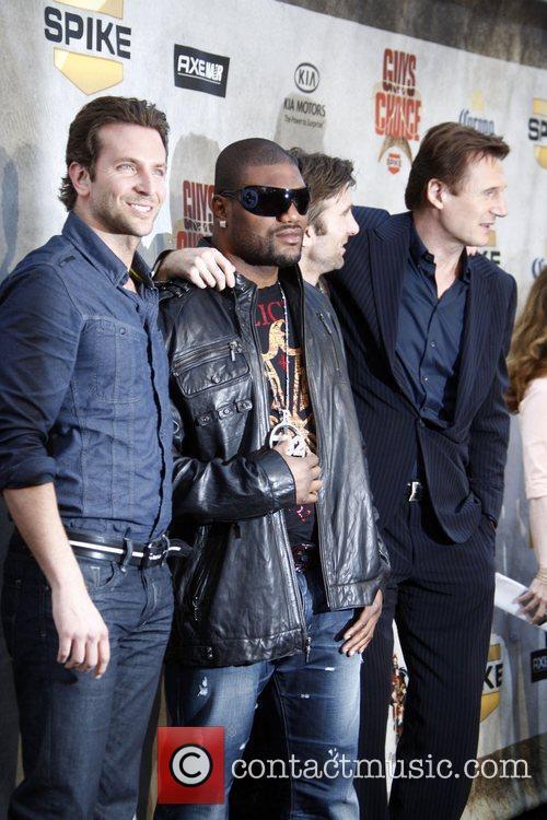Bradley Cooper, Quinton Jackson, Sharlto Copley, Liam Neeson...