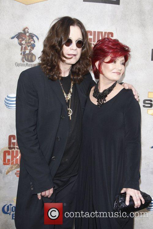 Ozzy Osbourne and Sharon Osbourne 5