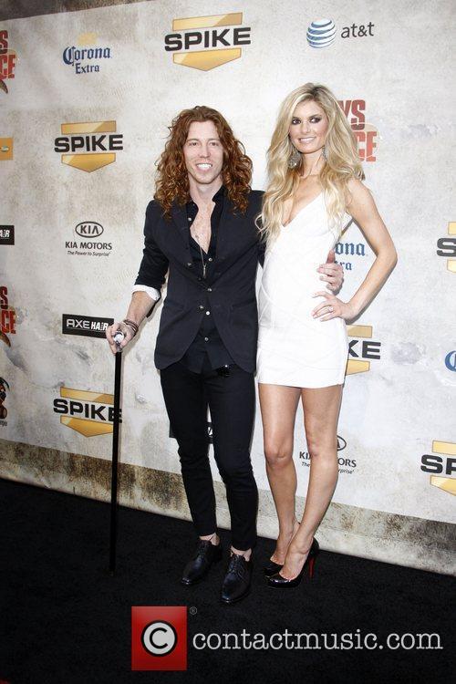 Shaun White and Marisa Miller  Spike TV's...