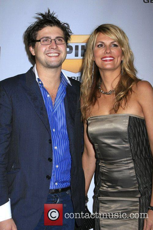 Courtney Hansen and guest Spike TV's 7th Annual...