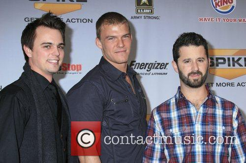 Darin Brooks, Alan Ritchson and Chris 'romanski' Romano 1