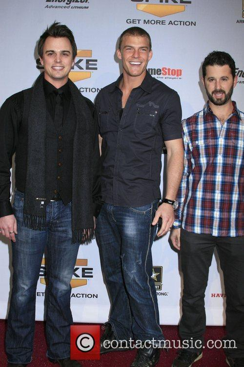Darin Brooks, Alan Ritchson and Chris 'romanski' Romano 2