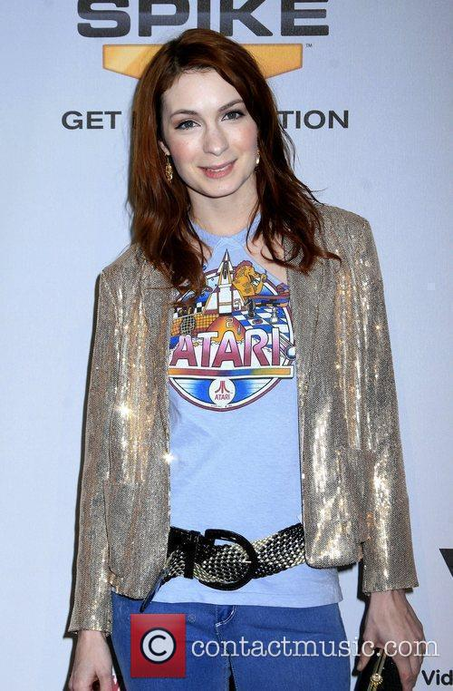 Felicia Day Spike TV's 7th Annual Video Game...