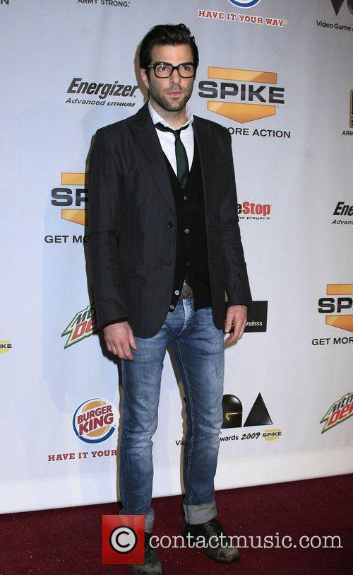 Zachary Quinto Spike TV's 7th Annual Video Game...
