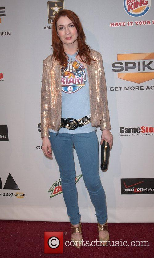 Felicia Day Spike TV'S Video Game Awards 2009...
