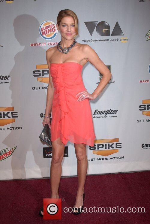 Tricia Helfer Spike TV'S Video Game Awards 2009...