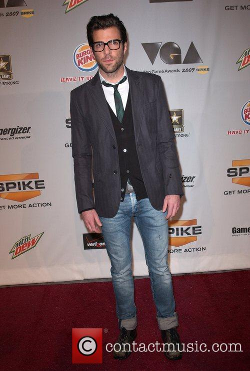 Zachary Quinto Spike TV'S Video Game Awards 2009...