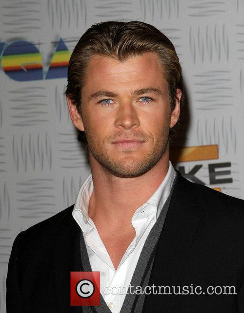 Chris Hemsworth Spike TV's 2010 Video Game Awards...