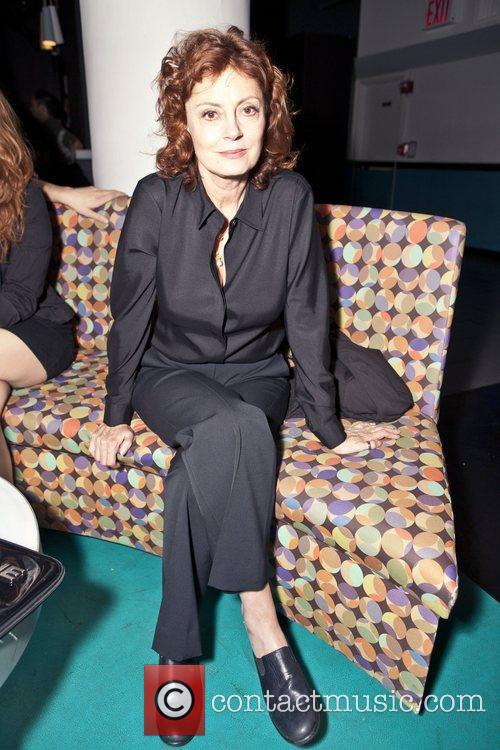 Susan Sarandon Spin Charity Event for Haiti New...