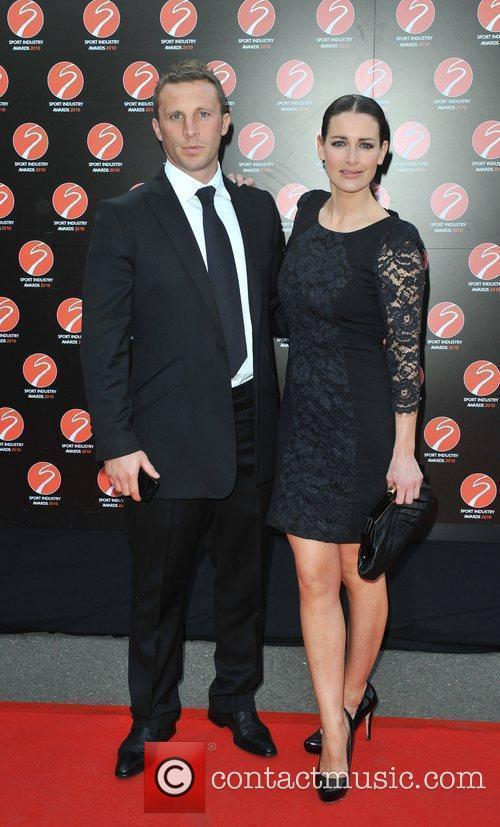 Kirsty Gallagher and guest Sport Industry Awards held...