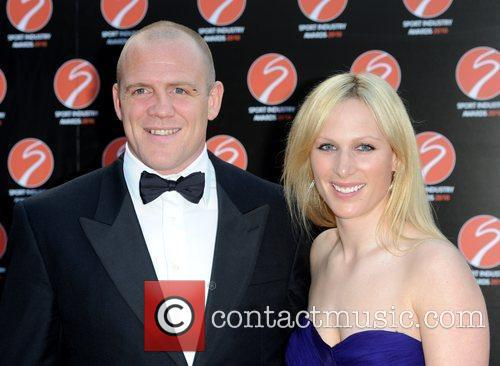 Mike Tindall and Zara Phillips Sport Industry Awards...