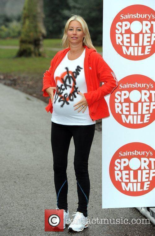 Celebrity bumps and babies mile for sport relief...