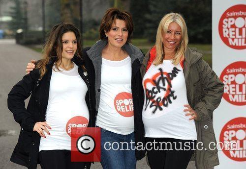 Denise Van Outen, Natasha Kaplinksky, Carly Zucker Celebrity...