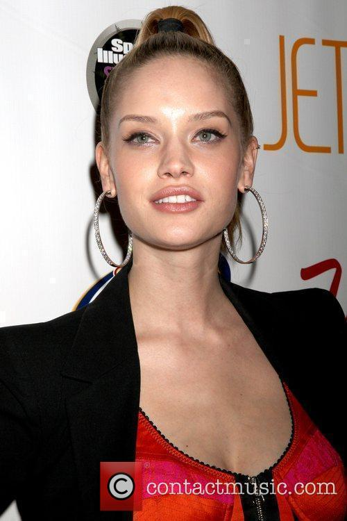 Julie Ordon Sports Illustrated Swimsuit on location party...