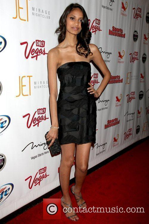 Sonia Dara Sports Illustrated Swimsuit on location party...