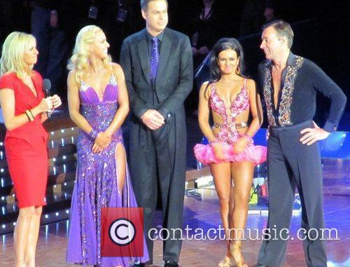 Peter Jones and Duncan Bannatyne with their dance...