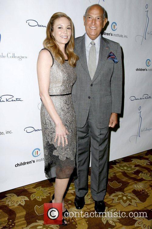 Diane Lane and Oscar De La Renta 8