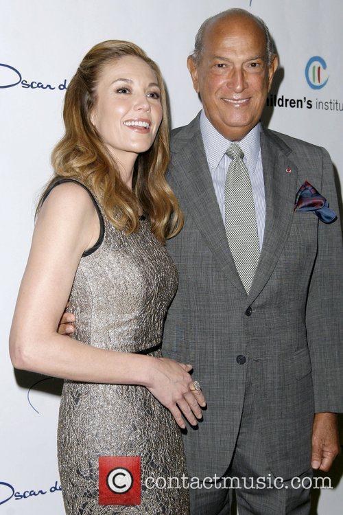 Diane Lane and Oscar De La Renta 1