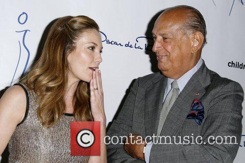 Diane Lane and Oscar De La Renta 6