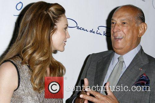 Diane Lane and Oscar De La Renta 2