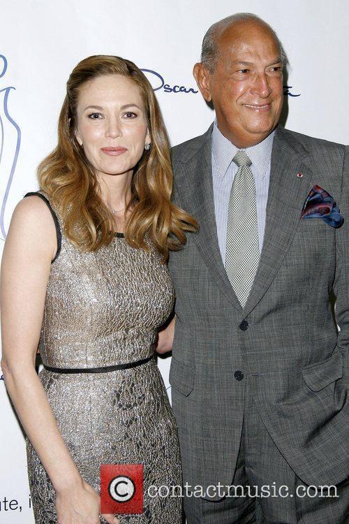 Diane Lane and Oscar De La Renta 7