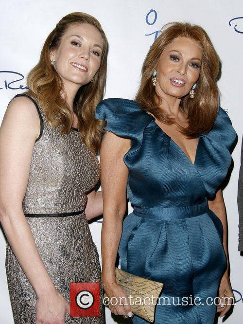 Diane Lane and Raquel Welch The Collegues present...