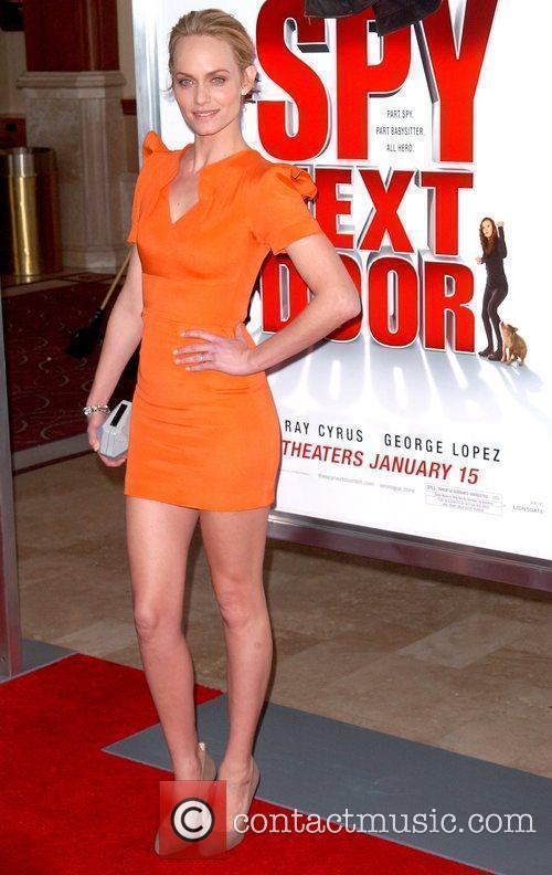 Amber Valletta World Premiere of 'The Spy Next...