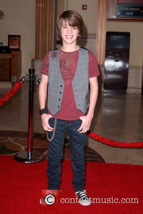 Brandon Tyler Russell World Premiere of 'The Spy...