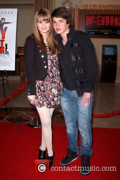 Debby Ryan and Gregg Sulkin World Premiere of...