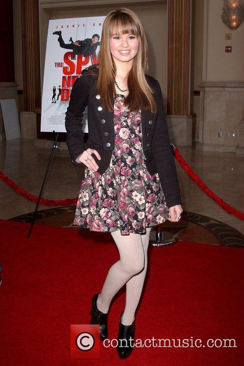 Debby Ryan World Premiere of 'The Spy Next...