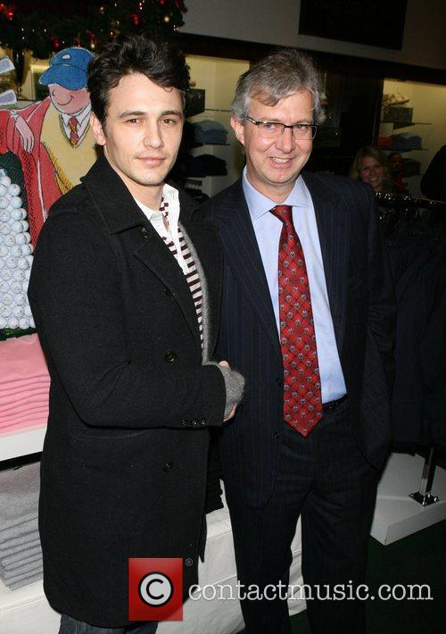 James Franco, Chairman and Ceo Of Brooks Brother's Claudio Del Vecchio 2