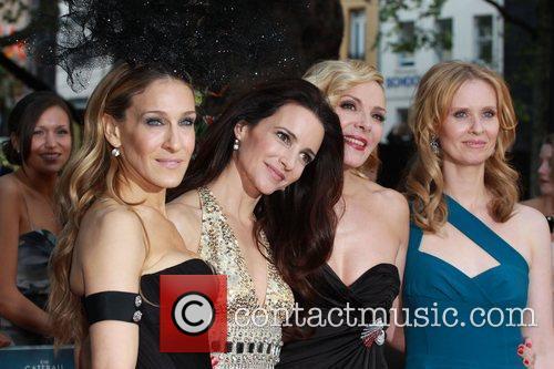 Sarah Jessica Parker, Kim Cattrall, Kristin Davis and Sex And The City 13