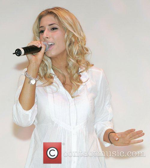 Stacey Solomon performing at the Xpose Live fashion...