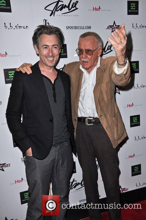 Alan Cumming and Stan Lee The Stan Lee...