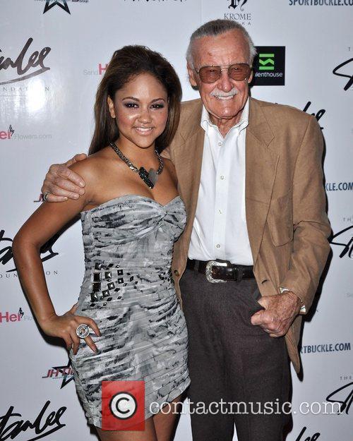 Kat DeLuna and Stan Lee The Stan Lee...