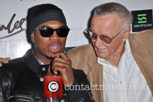 Ne-yo and Stan Lee 6
