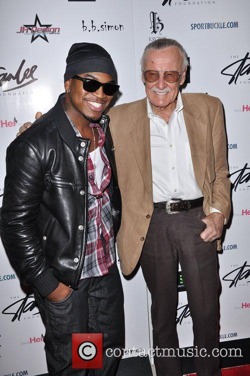 Ne-yo and Stan Lee 4
