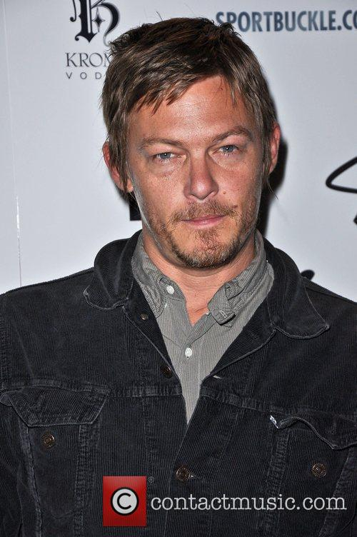Norman Reedus The Stan Lee Foundation launch party...
