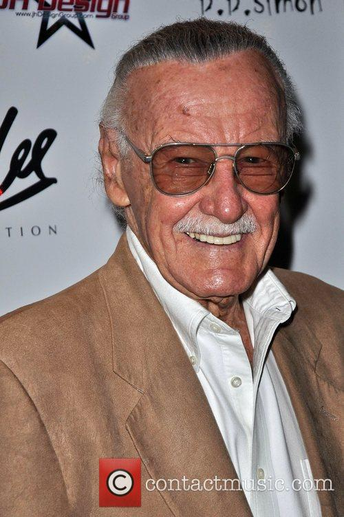 Stan Lee The Stan Lee Foundation launch party...