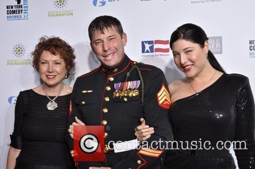 Serviceman and guests United States Servicemen attend 'Stand...