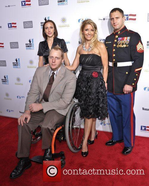 Servicemen and guests United States Servicemen attend 'Stand...