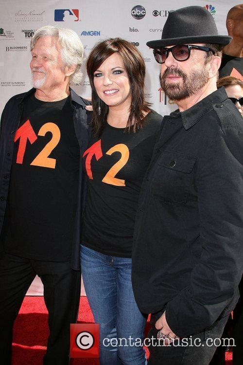 Kris Kristofferson, Dave Stewart, Martina Mcbride and Sony 2