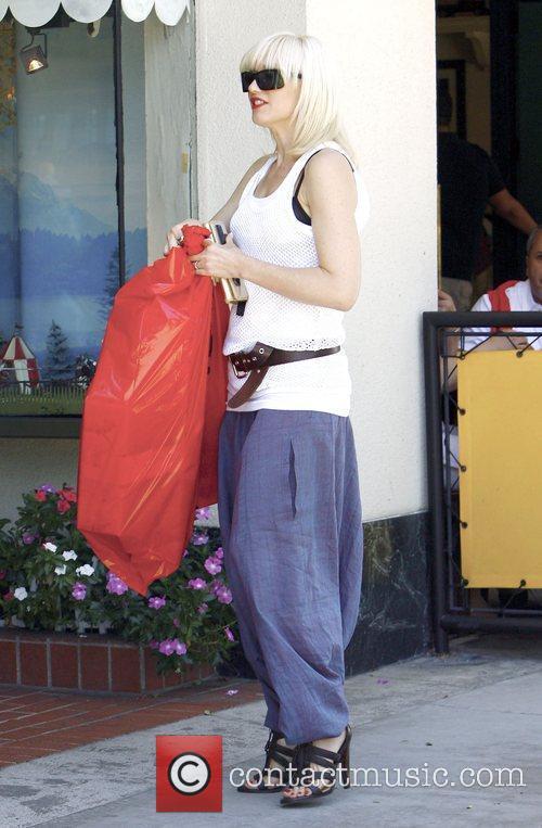 Singer Gwen Stefani, Gavin Rossdale