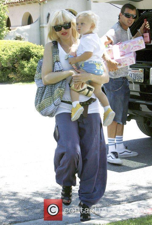 Singer Gwen Stefani and Gavin Rossdale 9