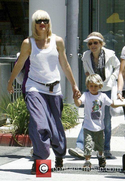 Singer Gwen Stefani and Gavin Rossdale 3