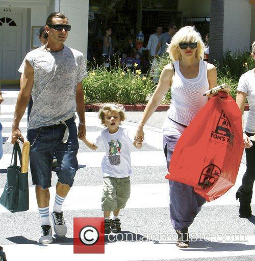 Singer Gwen Stefani and Gavin Rossdale 2