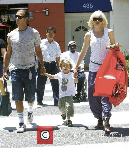 Singer Gwen Stefani and Gavin Rossdale 7